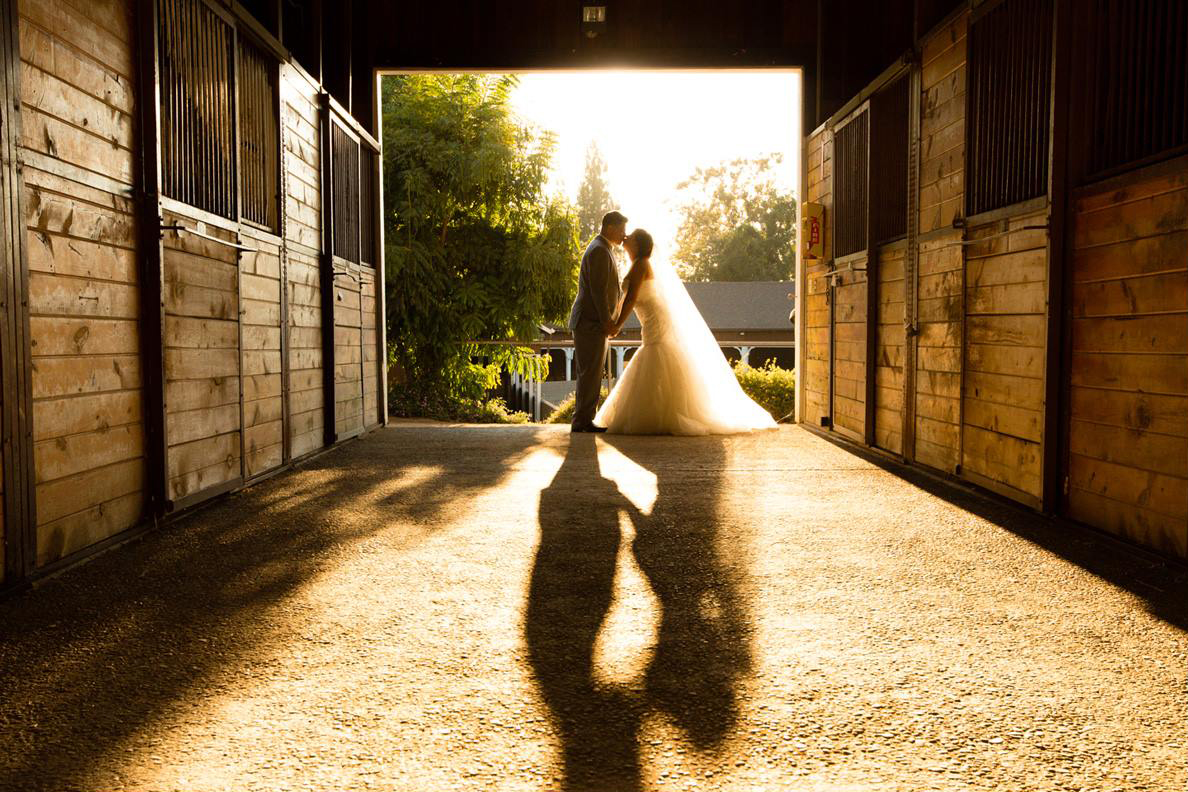 Wedding Photo Session at Stables
